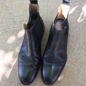 Johnston & Murphy Leather Chelsea Boots